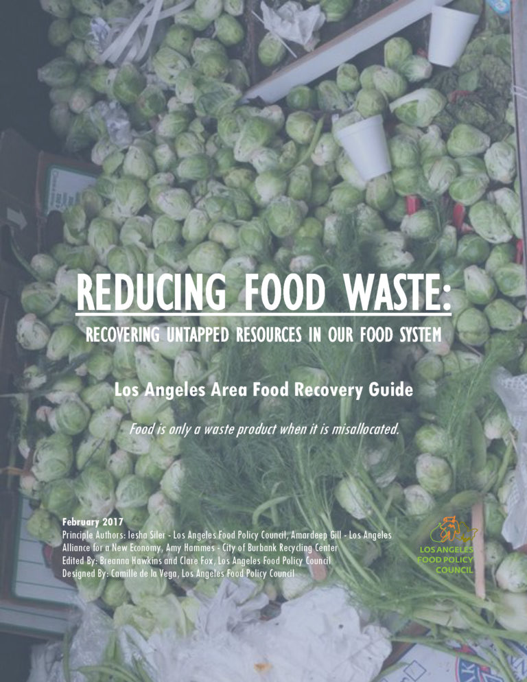 Los Angeles Area Food Recovery Guide – LA Food Policy Council